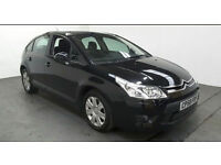 2008(58)CITROEN C4 1.6HDi SX BLACK,BIG MPG,2 OWNER,GREAT VALUE