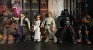 Disney TOYBOX Star Wars Action Figure Collection Loose