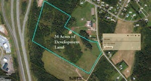 NEW LISTING - Great opportunity for a developer, 34 Acres