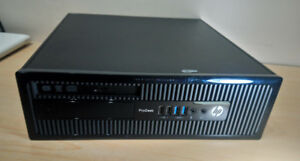 HP ProDesk 400 G1 core i3 (4th gen) 4GB 500GB