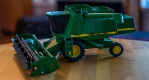 John Deere Combine miniature