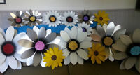 Mother Days Gifts -Hand Made Metal Flowers - Metal Petals