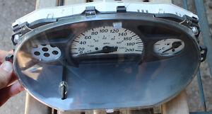 2000 2001 2002 Toyota Echo Instrument Cluster KM 83800-52370 157