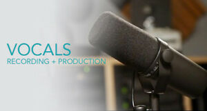 AFFORDABLE VOCAL RECORDING + PRODUCTION