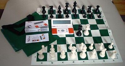 Chess Set Pieces Board Bag Digital Dgt 960 Clock