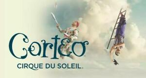 905-647-3137 Cirque du Soleil Tickets Corteo 2nd ROW FLOORS Oshawa at the Tribute Centre on Sunday June 24/18 5pm