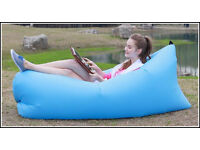 Air Chair Inflatable Air Lounger Sleeping Bag Mattress New.