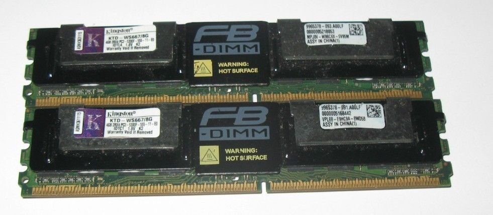 Pc23200 Ecc Registered 240 P 2x4gb Edge Memory 8gb