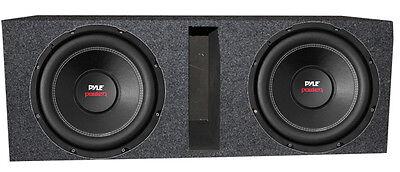 """2) Pyle PLPW10D 10"""" 2000W Car Subwoofer Audio Subs DVC 4 Ohm"""