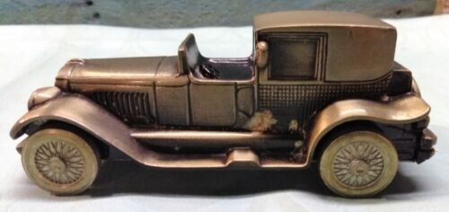 Vintage 1974 Banthrico 1927 Lincoln Brougham Car Advertising Coin Bank Cast Iron