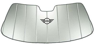 OEM Mini Cooper F55 F56 F57 Windshield Sun Shade Silver 82110049790 ()