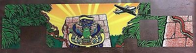 Williams Indiana Jones Pinball Machine Lost Plastic - Super Rare!