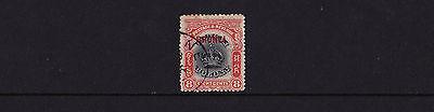 Brunei - 1906 On Labuan 8c Black & Vermillion - CDS Used - SG 17
