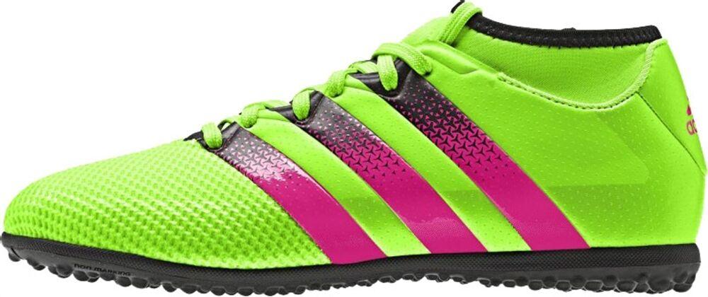 Adidas ACE 16.3 Primemesh Turf TF Grün/Pink/Schwarz AQ2562 Größe 7 - 13
