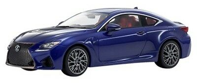 Kyosho samurai 1/18 Lexus RC F Blue Car Model KSR18006BL Japan New Figure F/S