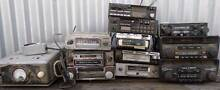 12 OLD VINTAGE CAR RADIOS CASSETTE 8 TRACK PLAYERS CB $150 LOT Kapunda Gawler Area Preview