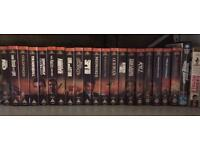 James Bond Full 22 VHS Collection