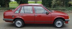 Vauxhall Nova 1.2 Merit with great number plate classic car