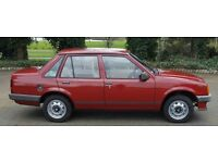 Vauxhall Nova 1.2 Merit with great number plate