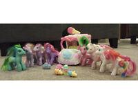 My Little Pony bundle - 8 Ponies, Ice Cream Van, Accessories