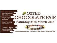 OXTED CHOCOLATE FAIR