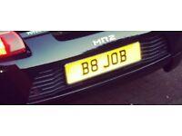 B8 JOB private registration