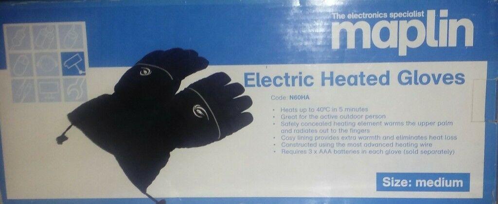Unusual Maplin Electric Gloves.