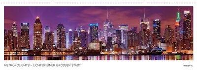 Metropole Ein Licht (Kalender  Metropolights - Lichter einer großen Stadt Großstadt - Metropole|Sta)