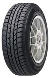 4 winter tires on rims with covers +new plastic trunk liner