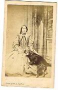 Antique Photo Dog