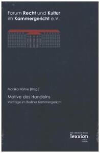 Motive des Handelns (2015, Taschenbuch)