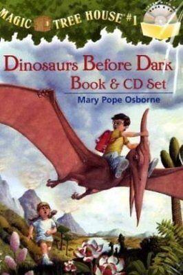 Dinosaurs Before Dark (Magic Tree House, No. 1) (Book & CD) - Dark Magic Book