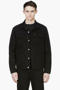 Looking for Lee or Levis thrifted BLACK denim jacket size XL