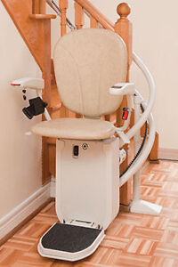 Platinum Curved Chairlift with charger / rails (stair lift)