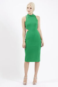 moving sale! brand new with tag topshop Cut-Out Midi Dress