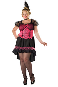 Saloon Girl Costume - plus size