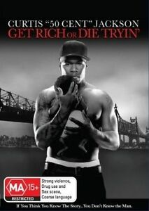 Get Rich Or Die Trying (DVD, 2011) region 4
