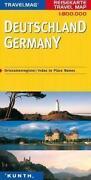 Reisekarte Deutschland