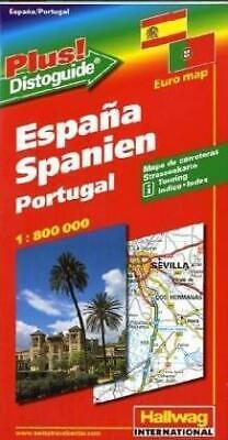 Spanien, Portugal, 1:1 000 000, Strassenkarte Mit Sehenswurdigkeiten, Reiseinfor