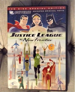 DC Universe Justice League New Frontier - 2 disk DVD
