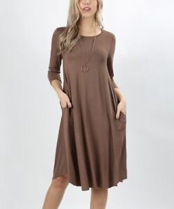 """Designer knit dress for someone 5""""5 and up new with tags"""