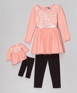 Dollie & Me Girl (Size 10) &Doll Outfits for American Girl Doll