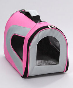 Pink & Cream Sporty Airline-Approved Pet Carrier