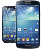 Samsung S4 Crack Screen Replacement $79.99
