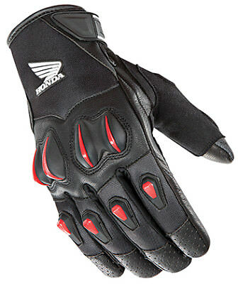 Street Riding Gloves - Joe Rocket Cyntek Honda Motorcycle Street Riding Gloves * Small,Med, LG, XL,2X*