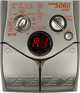 Zoom 506ii Effects Pedal
