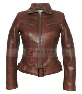 GI Joe Rise Of The Cobra Scarlett (Rachel Nichols) Brown Leather