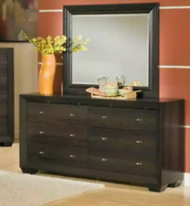 Brand new in box dresser and mirror!