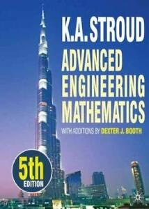 Advanced Engineering Mathematics, K.A. Stroud 9780230275485  Book