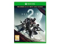 DESTINY 2 XBOX ONE BRAND NEW AND SEALED £40
